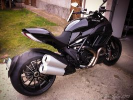 My new bike Ducati Diavel 3 by Sweetlylou