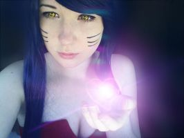Ahri- take my charm by DeeperThenU
