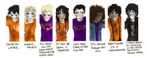 The Seven at the Doors (also Nico) by Vanilla-Fireflies