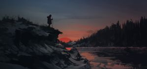 The Revenant (speedpaiting) by Iselinka