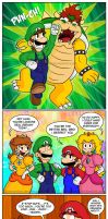 It's 'Dreamy' Luigi Time by Gabasonian