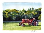 West Tisbury Tractor by jackieocean