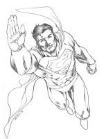 Superman Con sketch by RobertAtkins