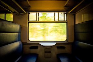 train dream window by tommboy