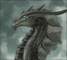 dragon by flame1111