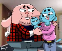 The Wattersons - First Born by The-B-Meister