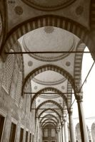 blue mosque - III by lydelodia