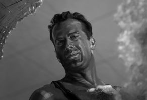 Bruce Willis 5 by Feael