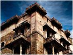 Fort at varanasi ghat by madimaverick