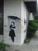 Banksy in New Orleans by Sigma982