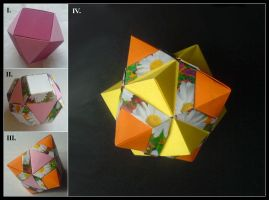 Compound Cube and Octahedron by lonely--soldier