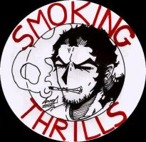 Smoking Thrills a by AaronSmurfMurphy
