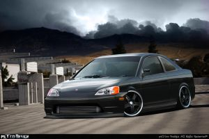 Honda Civic Full CP by Psyco-Design