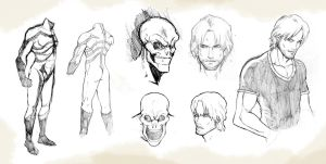 Character study: the Skeleton Vigilante 2012 by M3Gr1ml0ck