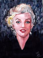 Marilyn Monroe by smjblessing