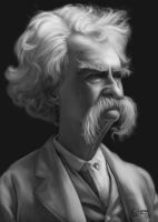Mark Twain by ChicoBlue