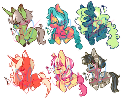More Ponies by JessiAdopts