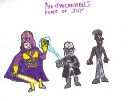 The Incredibles Force of Joy by SonicClone