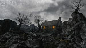 Lonely Inn by Debilowskij