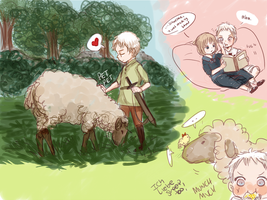 APH: Some sheepy doodles by Assby