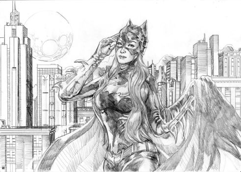 Batgirl ready for action by cric