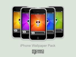Monkey Skull iPhone Pack by Ben-Is-A-Designer