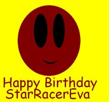 Happy Birthday StarRacerEva by pagan-skater