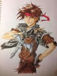 Orphen Fanart by blondewolf2