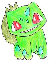 001- Bulbasaur by FrostedIcefire