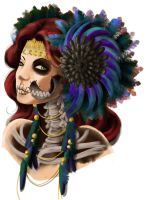 Custome Catrina by Rusembell