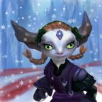 Guild Wars 2 Asura Portrait by Elle-Arden