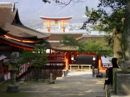 Itsukushima-shrine4 by kaz0885