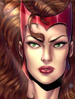 Scarlet Witch by Salamandra88