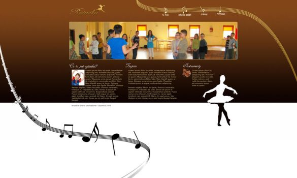 Ballet group layout by halvaPL