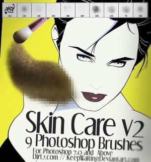 Skin Care v2 Photoshop Brushes