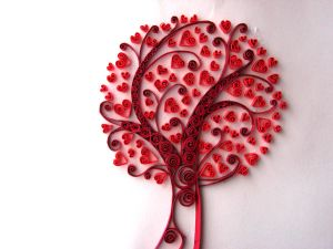 Red-hearted tree. by sk8ternoz