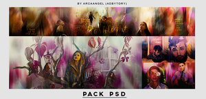 Pack PSD: 1.500 watchers. by Arcaangel