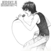 The Frontman Sketch by jedski