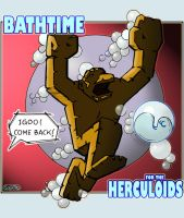 Bathtime for the Herculoids by ccicconi