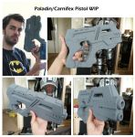 Paladin Pistol WIP by The-Rover