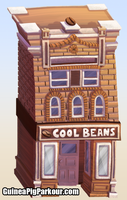 'Cool Beans' Background Element by JoeGPcom
