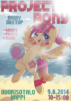 Project Pony Official Poster (Text Version) by Rain-Ame