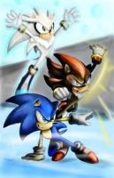 Sonic  Shadow  Silver by limirina