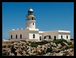 Lighthouse - Cap de Cavalleria by skarzynscy
