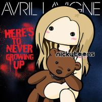 Avril Lavigne - Here's To Never Growing Up by NickyToons