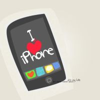 iPhone by Ms-Hessah