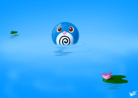 Poliwag and Froggy by e-pona