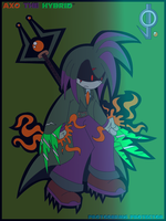 Evil Axo Elemental Form by JackFrost65