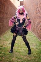 Black Lady Cosplay based off fan art by No Flutter by cliodnafae27