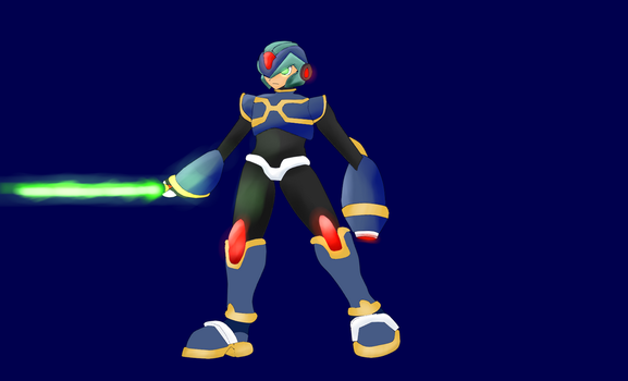 Megaman X Design. by Warlord9787
